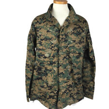 American Apparel Medium Shirt Jacket EGA Marines USMC Digital Camo Insect Guard
