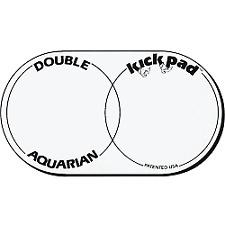 Aquarian DKP2 `Double Kick Pad` Bass Drum Pad