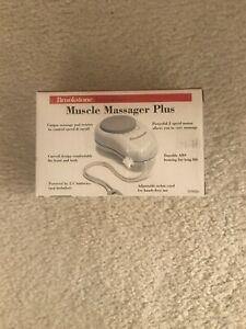 Brookstone Innovation Muscle Massager Plus