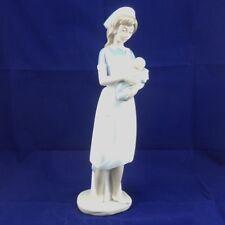 NAO-Nurse with Baby Figurine
