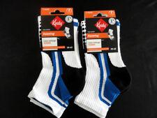 Lot 2 Paires de chaussettes running KINDY Blanc/Bleu Taille 39/42