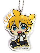 Hatsune Miku Series 8cm Acrylic Key Chain feat. CHANxCO - Len SEGA1024086 USA