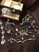 BRIGHTON JEWELRY LOT GROUP Includes 5 Necklaces And 5 Bracelets And 1 Earrings