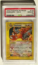 Pokemon Cards Complete Skyridge Set PSA Graded Holos, Crystal Charizard PSA 10