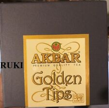 Akbar golden tips premium quality pure Ceylon  tea 50G Packed in CEYLON