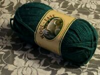 NEW LION BRAND WOOL-EASE Hunter Green Sprinkles Yarn Acrylic Wool 85g Turkey
