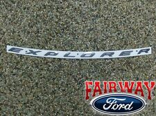 2011 thru 2017 Explorer OEM Genuine Ford Sport Pkg Hood Emblem Letters Decal NEW