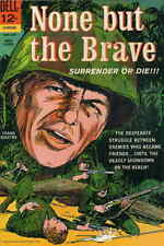 None But the Brave #1 GD; Dell | low grade comic - save on shipping - details in
