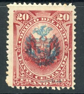 Peru- N17 War of the Pacific Occupation- MH