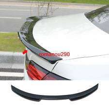 For Toyota Corolla 2020 Carbon fiber style Rear Tail Trunk Spoiler Wing Lip Trim