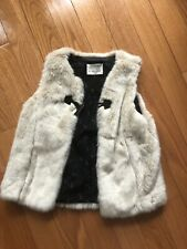 f89545eb Zara Faux Fur Sleeveless Outerwear (Sizes 4 & Up) for Girls for sale ...