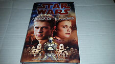 Star Wars Episode II: Attack of the Clones by R. A. Salvatore SIGNED 1st/1st