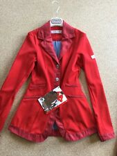 Animo Lovely Show Competition Jacket I-46 UK14 Red BN