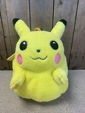 More details for pokemon rare pikachu plush bag pyjama storage large 90s vintage fat pikachu