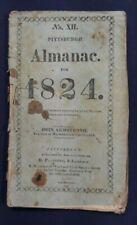Pittsburgh Pennsylvania Magazine Almanac for 1824