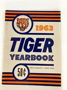 Vintage Detroit Tigers 1963 Yearbook
