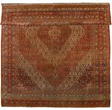 2491-Antico Tappeto da Museo Haji Jalili CON RARA BELLEZZA 370x287 Cm Farah1970