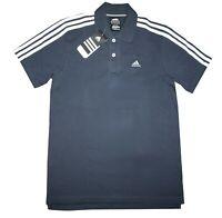 Adidas Ess 3S Polo Herren Jungen Shirt Poloshirt Sportshirt Clima365 Gr. S (164)