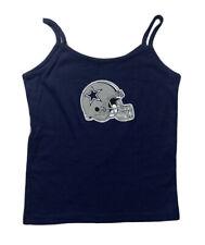 REEBOK DALLAS COWBOYS Tank Top SZ L Blue 100% Cotton Shirt