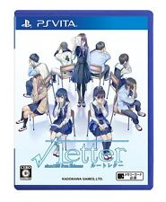 Used PS VITA  Root Letter  Japan Import Free Shipping