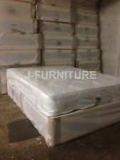 4ft6 Standard Double Divan Bed with Medium 22cm Mattress DIRECT FROM FACTORY