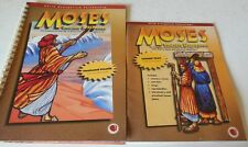 Moses Chosen Deliverer Lesson Text+Flashcard Visuals Child Evangelism Fellowship
