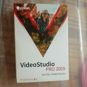 Corel VideoStudio Pro 2019 Retail Full Version for Windows damaged box