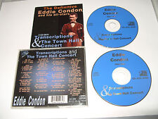 Eddie Condon - Transcription & Town Hall Concert (Live Recording, 1996) 2 cd Ex
