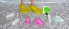 Mattel Barbie Fits Francie And Skipper Assorted Shoes Lot China 4 Pr C403