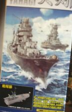 TAKARA 1/700 YAHAGI BATTLESHIP 3 SECTIONS-COMPLETELY PAINTED,ASSEMBLED