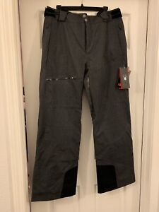 Spyder Propulsion 3M Thinsulate Mens Ski Pants Bibs XL NWT