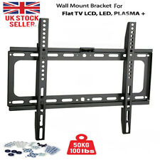 TV Wall Bracket Mount For 26 30 40 42 46 50 52 63 Inch 3D LCD LED Plasma