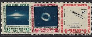 MEX 1942 AIRMAL ASTROPHYSICS TYPE SC#C123-25 CV60 (AL84)