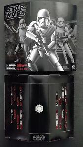 Star Wars Black Series Premium First Order Stormtrooper With Gear C3228 N I B