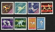 Poland Sc.# 1257 - 1264. 1964 Tokyo Olympics. Mnh.