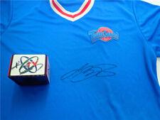 Lebron James autographed Space Jam 2 T-shirt