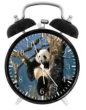 "Cute Panda Alarm Desk Clock 3.75"" Home or Office Decor Z51 Nice For Gift"