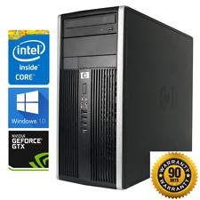 Gaming PC Desktop: HP Intel Core i7 3.8GHz/GTX 1060/SSD/12GB RAM/1TB HDD/Wi-Fi