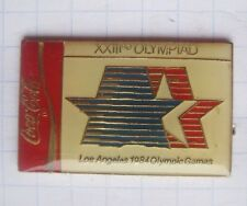 COCA-COLA /  OLYMPISCHE SOMMER SPIELE / LOS ANGELES 1984  .... Sport Pin (127j)