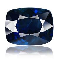 Unheated Sapphire 2.30ct rare aaa deep blue color 100% natural earth mined Burma