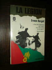 LA LEGION - Erwan Bergot 1979 - Poche - Légion Etrangère - b