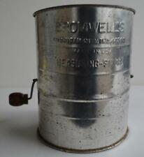 Bromwell's ~ Michigan City Indiana ~ 3 Cup Measuring Sifter ~ Made In The USA