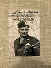 Don Malarkey 101st Airborne E Co signed autographed Band of Brothers Photo AUTO