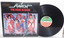 RAVEN The Pack Is Back LP 1986 Atlantic Records 81629 Heavy Metal Vinyl