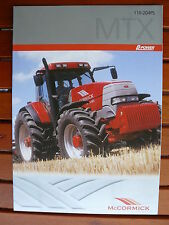 7465 McCORMICK X5 35-45 55 Traktoren Prospekt von 04//2019