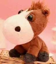 Peluche Cavallo Amici Della Fattoria pupazzo Coop 23cm Big Headz horse plush