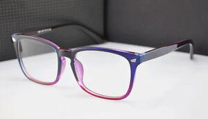 Unisex Retro Full Rim Clear Lens Eyeglasses Frame Blue Light Blocking Eyewear