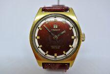 Vintage Tissot GP Swiss 17 jewel Seastar PR516 manual mens watch