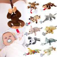 Portable Wubbanub Infant Baby .Soothie PACIFIER You-Choose
