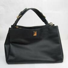 Fiorelli Black Handbag PU Vegan Faux Leather Bag Inner Compartments Pockets